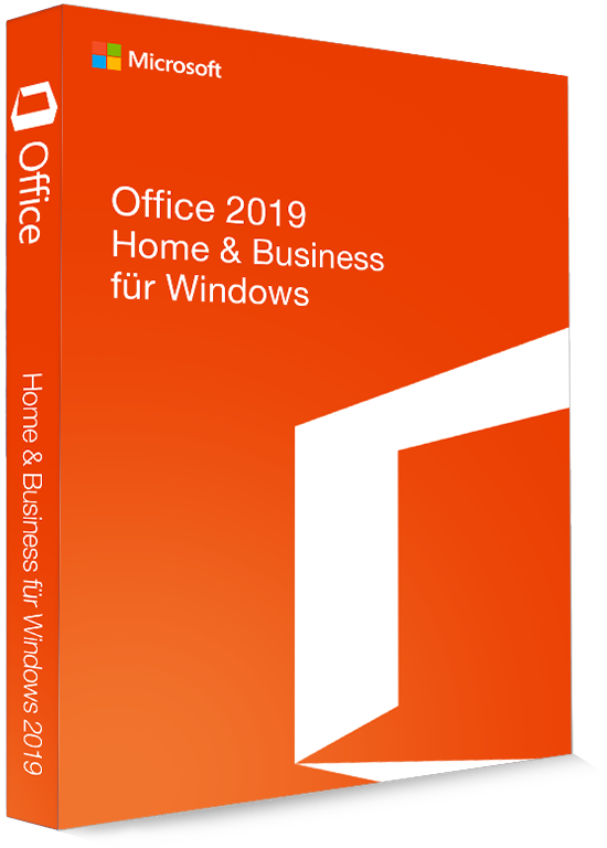 Microsoft Office 2019 Home & Business 32/64 Bit - Produktschlüssel (Key)