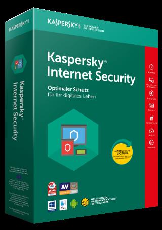 Kaspersky Internet Security 2018 | 1 Gerät | 1 Jahr