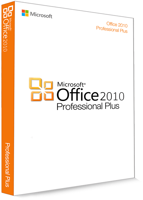 Microsoft Office 2010 Professional Plus 32/64 Bit - Produktschlüssel (Key)