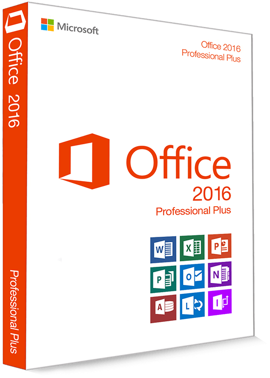 Microsoft Office 2016 Professional Plus 32/64 Bit - Produktschlüssel (Key)
