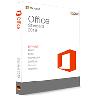 Microsoft Office 2019 Standard 32/64 Bit (Home & Business) - Produktschlüssel (Key)