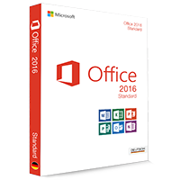 Microsoft Office 2016 Standard 32/64 Bit (Home & Business) - Produktschlüssel (Key)