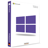 Microsoft Windows 10 Professional 32/64 Bit - Produktschlüssel (Key)