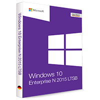 Microsoft Windows 10 Enterprise N LTSB 2015 32/64 Bit - Produktschlüssel (Key)