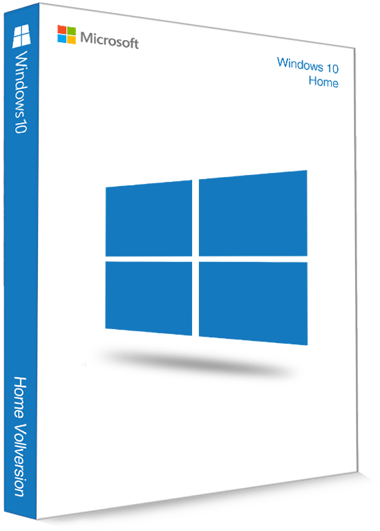 Microsoft Windows 10 Home 32/64 Bit - Produktschlüssel (Key)